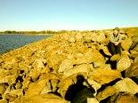 Hartwell Dam by Zeke Sayer