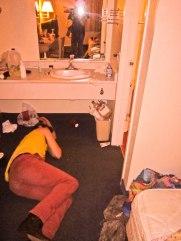 Matt at Motel 8 by Zeke Sayer